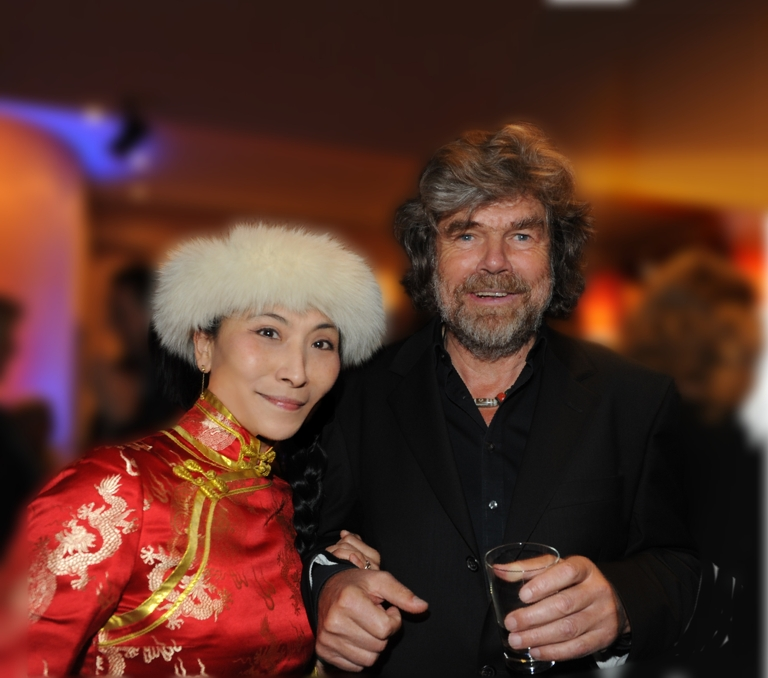 Chao Hsiu Chen With Reinhold Messner